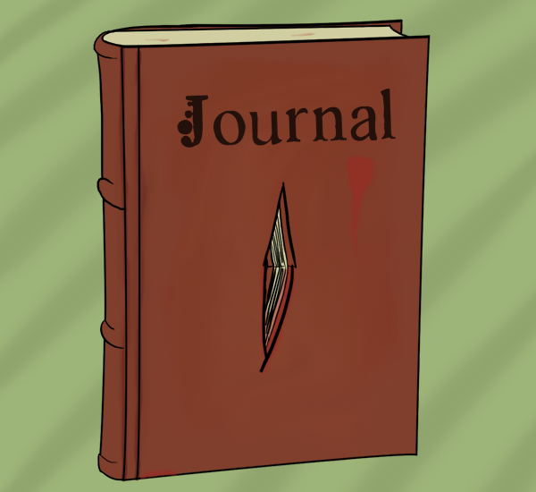 Find a Blood Stained Journal